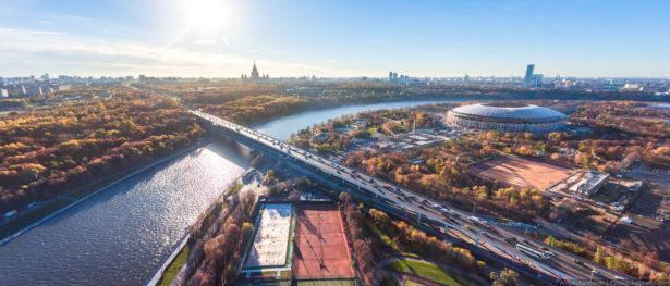 «Я покажу тебе Москву!» С высоты птичьего полета.