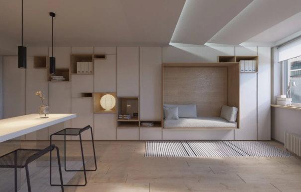 Идеи для маленьких квартир. 7 чудес трансформации.