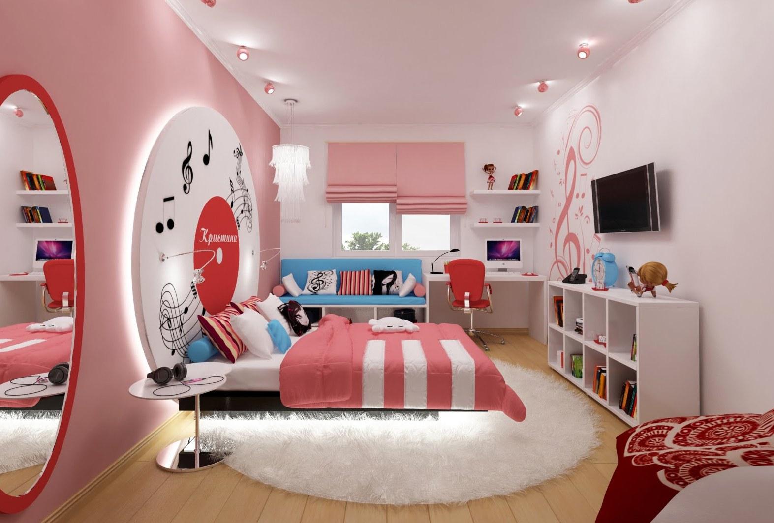 Детские комнаты красивые картинки