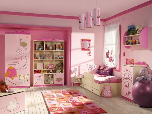 Детская комната для девочки. 10 интересных идей.