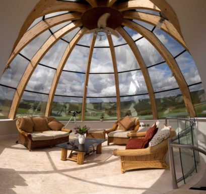 Планировка круглого дома