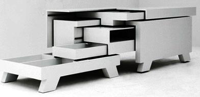 Идеи для маленьких квартир. Мебель-трансформер