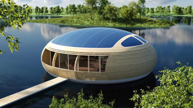 Самые необычные дома мира. «Гнездо на воде».