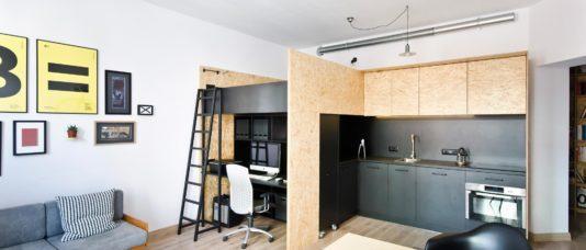 Как сделать однокомнатную квартиру просторнее?