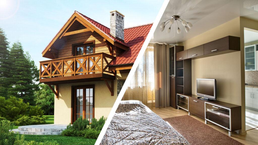 Что выбрать частный дом или квартиру?