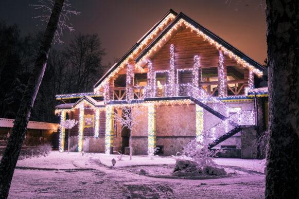 Аренда коттеджа на Новый год — зимняя сказка за городом!